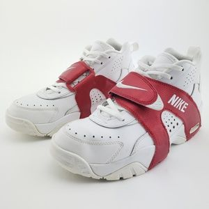 Nike Air Veer White Red Shoes Sz 8.5